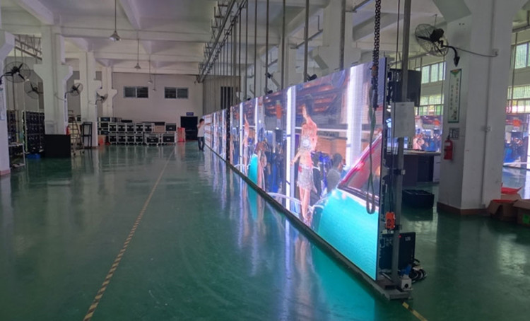 China LED video display screen wall panel factory manufacturer