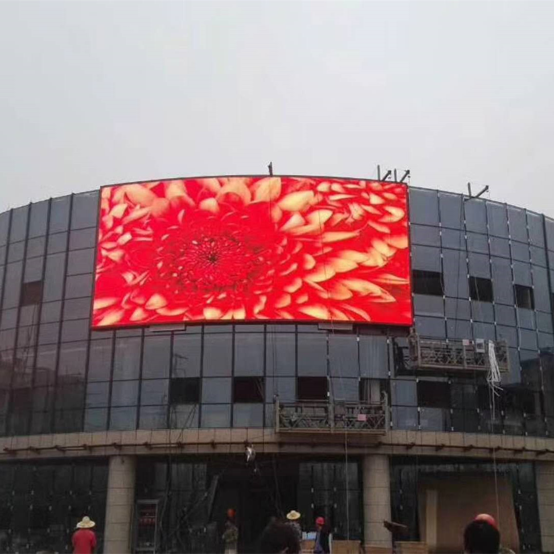 High brightness front service cabinet P8 SMD outdoor led display for small advertising
