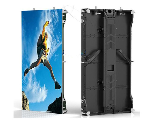 High brightness Die-casting aluminum cabinet p4.81 indoor rental led display