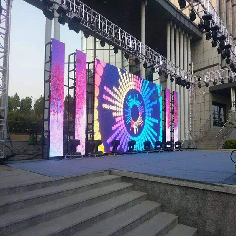 2019 New P4.81 SMD Outdoor LED Display Screen for Rental stage led display video wall