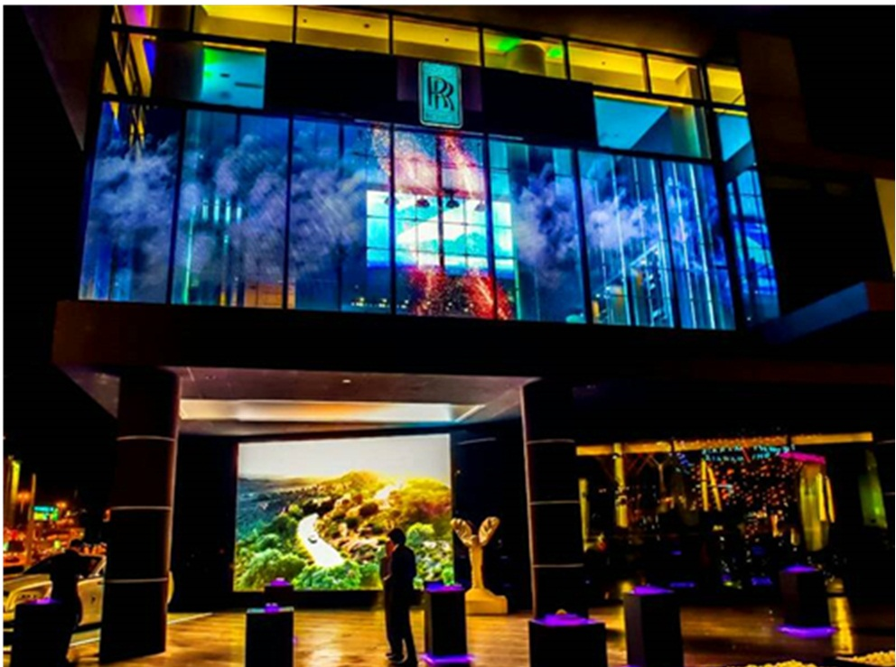 shenzhen supplier outdoor full color led window display module P3.91 p4.81 led screen