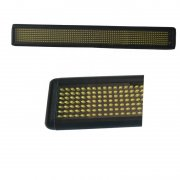 P7.62mm slim and smart indoor or semi-outdoor programmable scrolling led sign screen