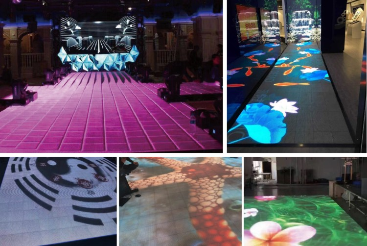 Full color best price indoor rental p4 p5 large stadium led display screen stage dance floor video t