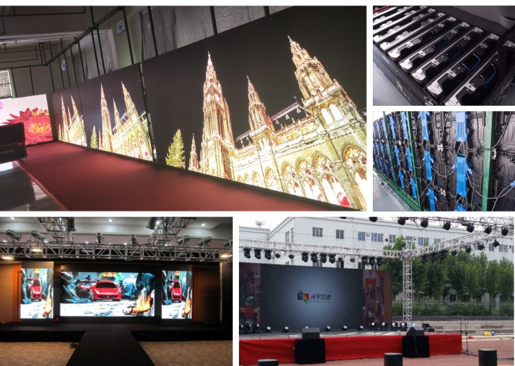 Full Color outdoor HD P3.91 Front Replace Module LED Display Wall Screen