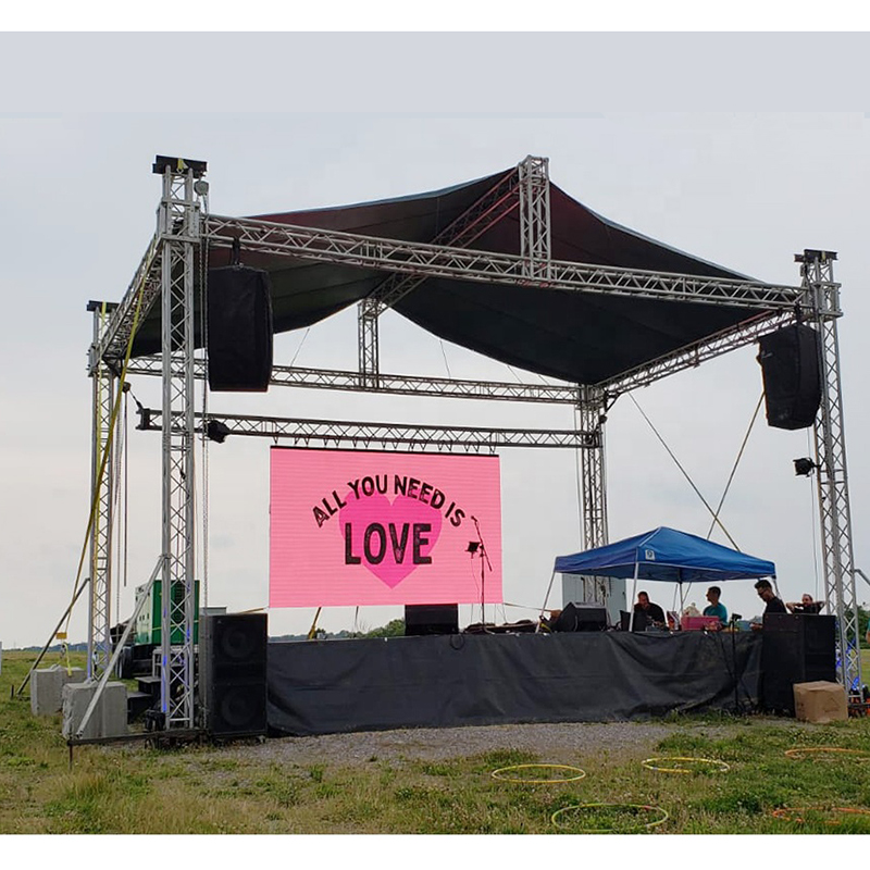 outdoor led video wall p3 p3.91 p4.81 p5 p6 Waterproof Full Color Rental LED Display