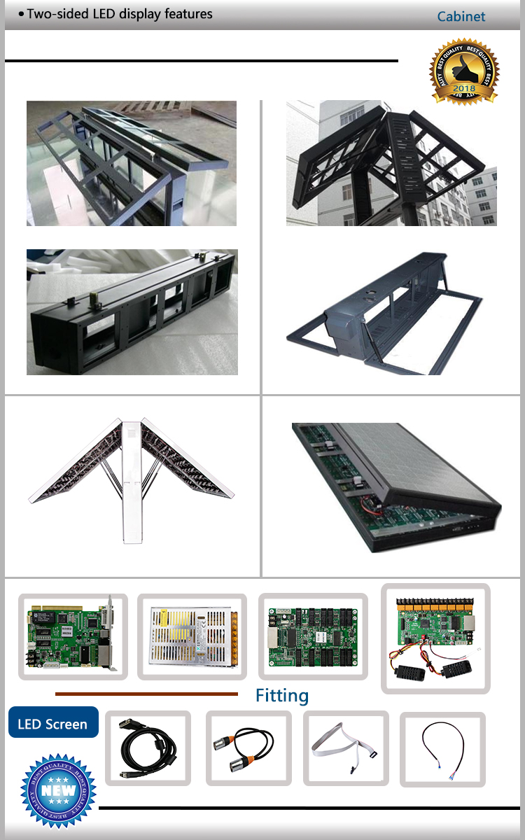 Full Color Outdoor P10 P8 P6 P5 P4 TV Video Smd Hd Led Screen front service