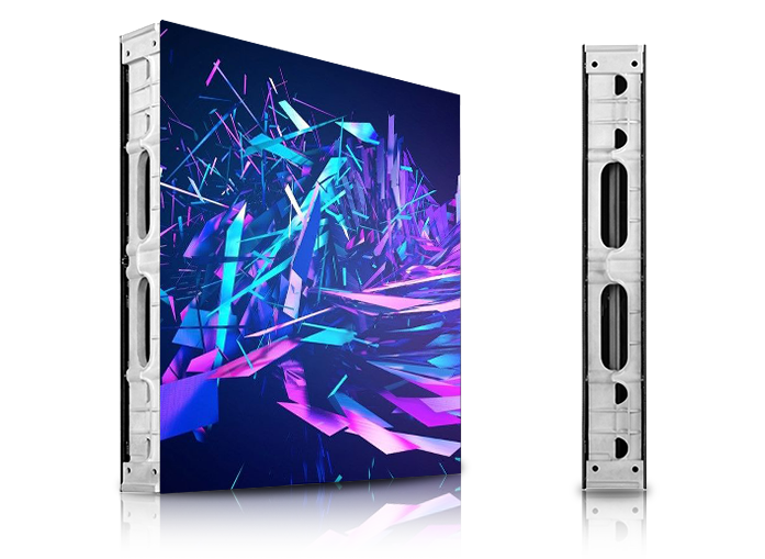 P1.9 Indoor Dual Sides LED Screen for Shopping Mall Die-cast Aluminum Cabinet