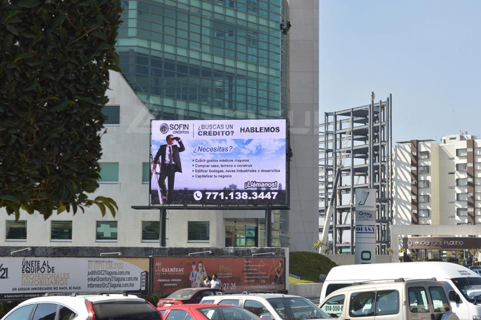 Shenzhen High Quality Full Color Outdoor P10 Fixed Installation Advertising LED Display Screen