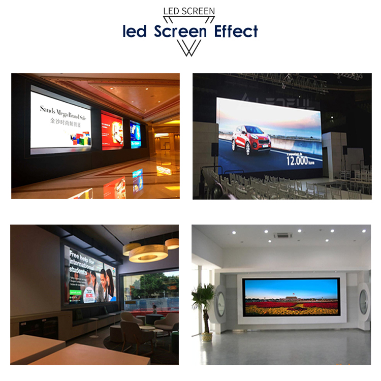 Hd p5 indoor led video screen new led display screen indoor full color led display