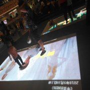 Led Dance Floor Interactive Display Full Color Screen For Stage Pantalla Pista Gigante