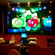 Factory P391 Indoor Curve P3.91 mm Seamless Led Display Screen With Good Price