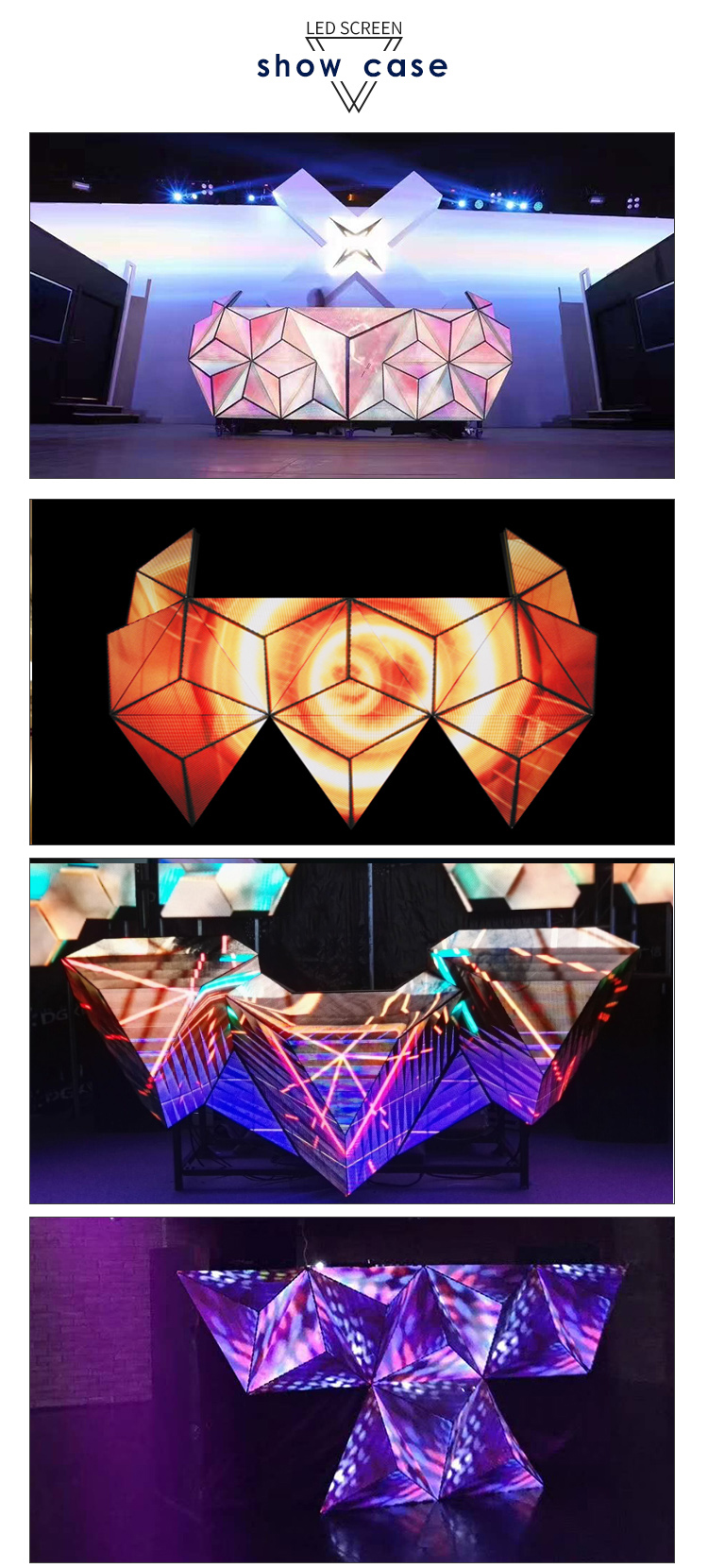New product 3D Full color cool Mobile DJ booth furniture for nightclub