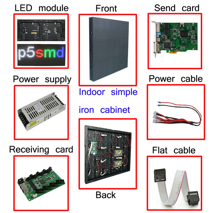 SMD Led Module P5 P6 P8 P10 P16 Outdoor LED Advertising Display Board Screen