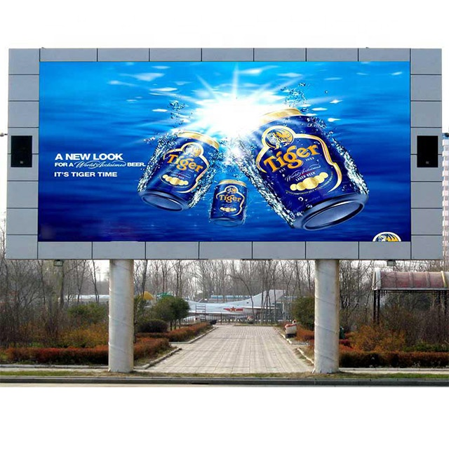 p4 tv panel smd video taxi outdoor advertising moving led display