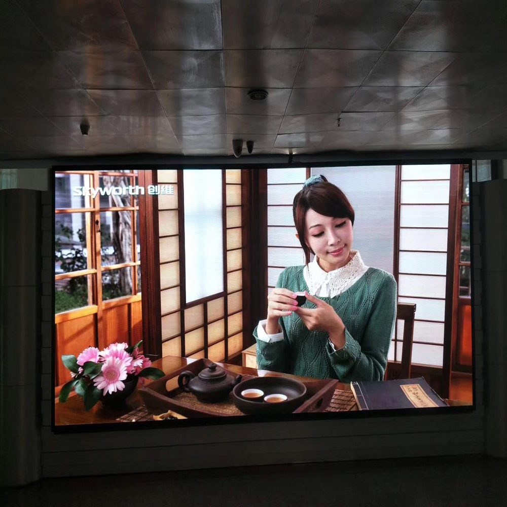 Popular sell full color advertising led display screens hd p3.91 indoor led display