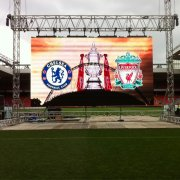10Ft X 12Ft Full Color Outdoor Rental Stage Backdrop LED Display Panels Screen, LED P4 Video Wall