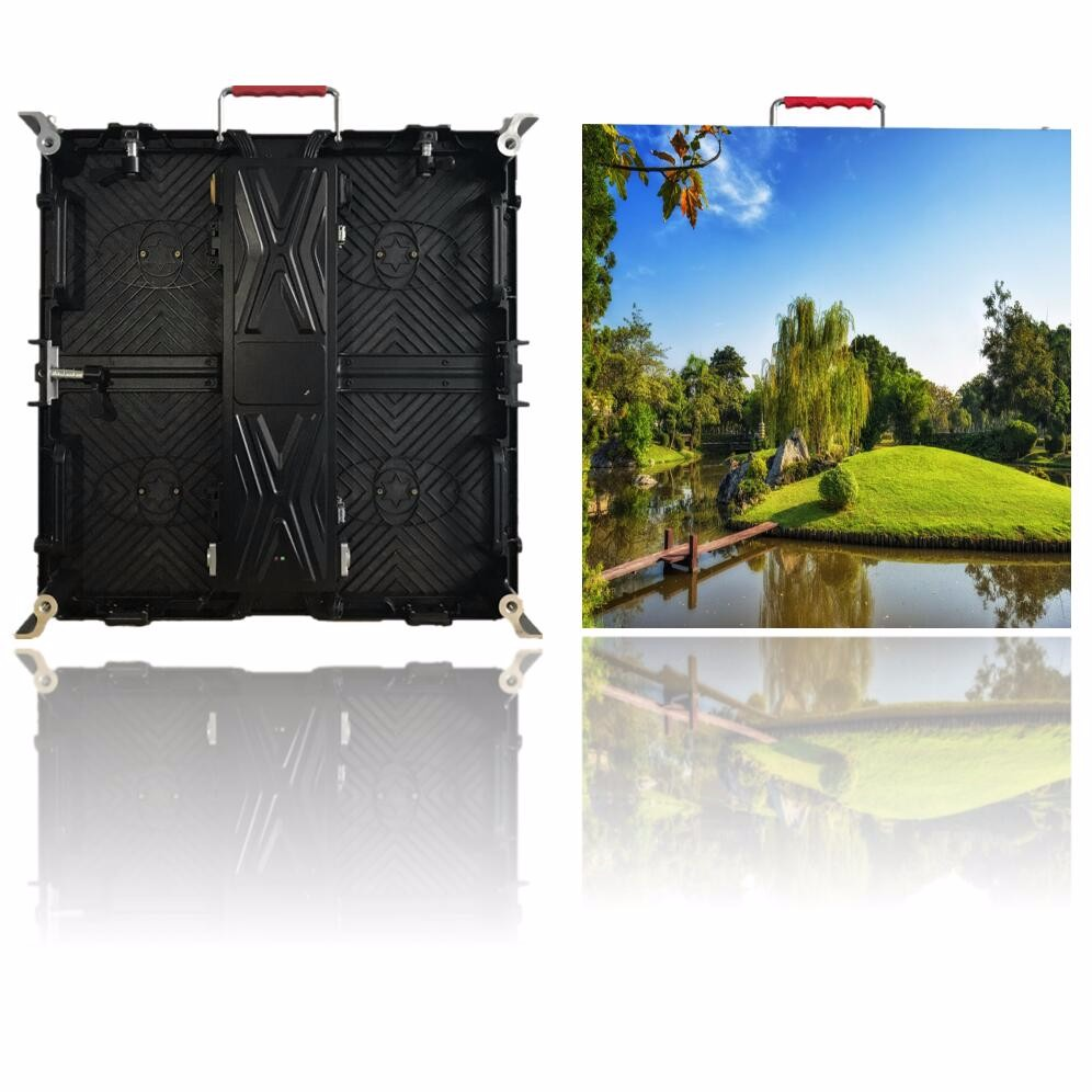 P3.91 P4.81 P6.25 Outdoor Rental Die Cast Cabinet Curved LED Video Screen Display LED