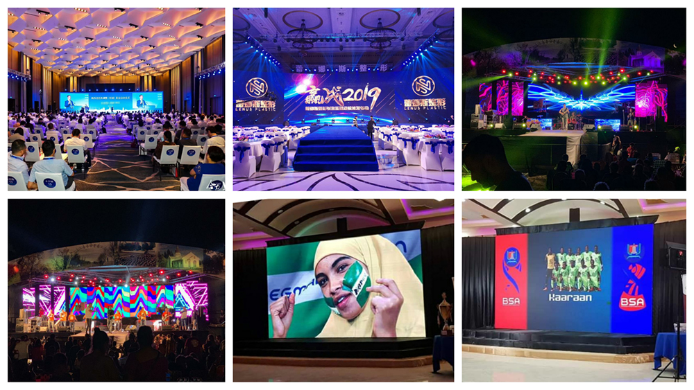 Best Sale Factory Price HD LED Screen Indoor P3.9 Led Video Wall Panel P3.91  Rental LED