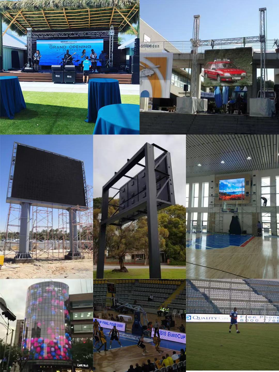 Best Selling HD P3.91 P2.604 P2.5 Full Color Led Rental Video Wall For Concert Trade Show