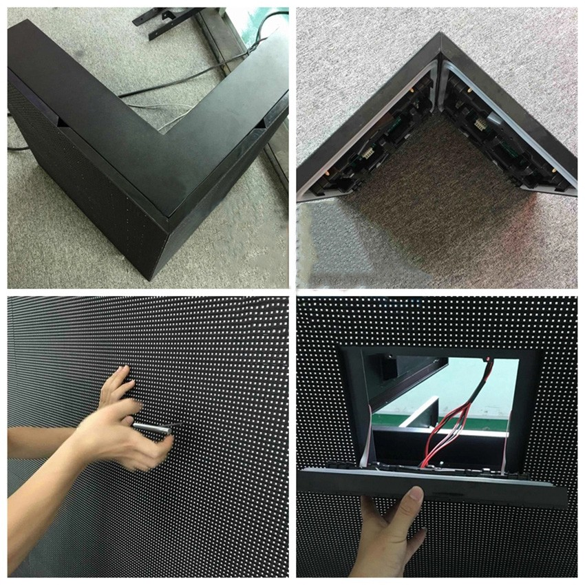 P8 Pixel Pitch 8mm SMD Outdoor Fixed Install outdoor led display advertising Screen