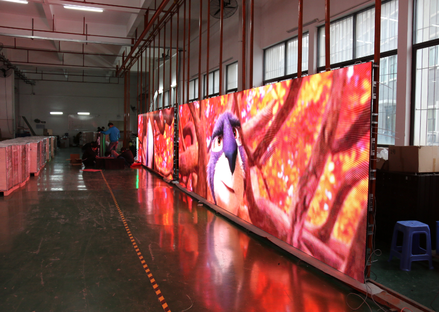 Full color outdoor P8 led display module waterproof led video panels for outdoor