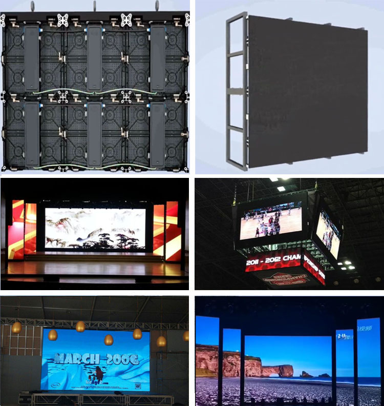 Professional Outdoor Indoor rental P3.91 P4.81 LED Sign LED Display Screen, Full Color LED Video