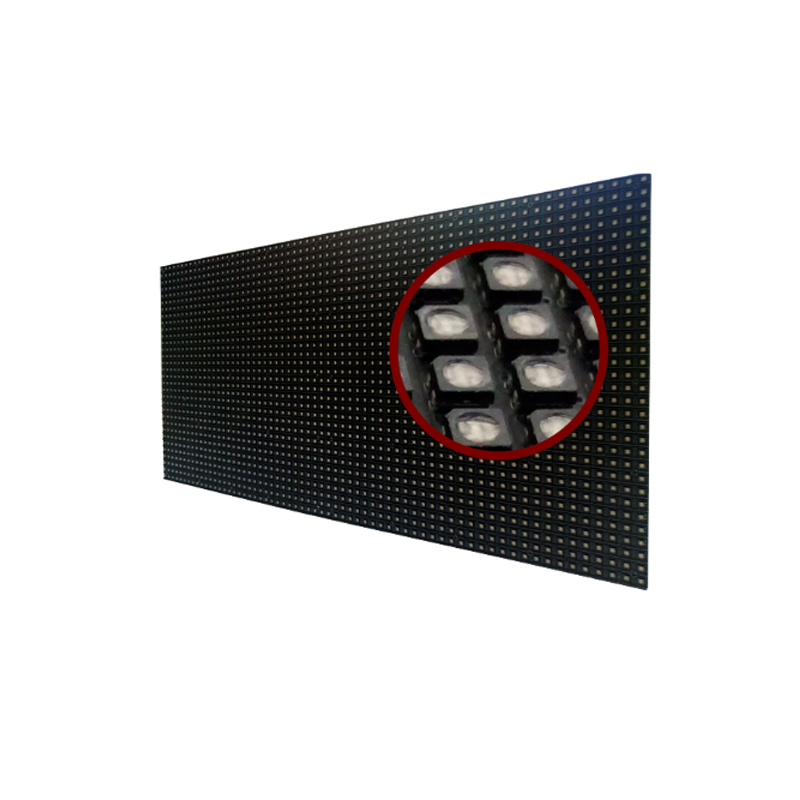 light weight front opening cabinet indoor led large screen display p4 led module panel epistar