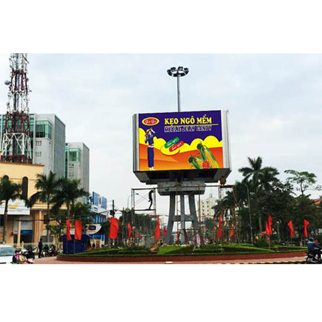Outdoor P3.91 led commercial advertising display screen aluminium frame for led display