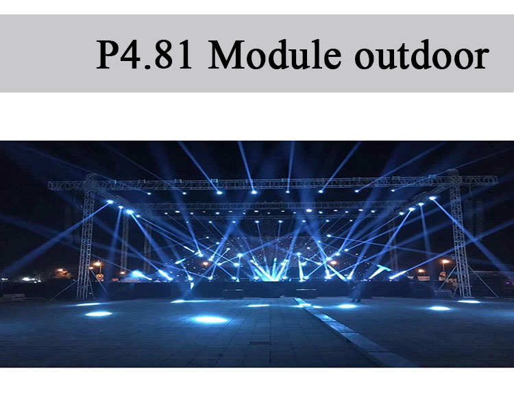 LED display empty cabinet 500*1000 aluminium rental led board display frame cabinet outdoor module