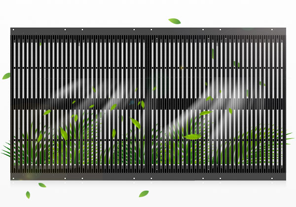 PH12.5 Outdoor SMD Led Curtain Display Screen Panels 500×1000mm