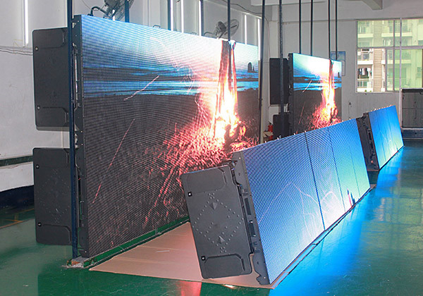P10 Outdoor Rental 1/2 Scan LED Screen video Wall - China
