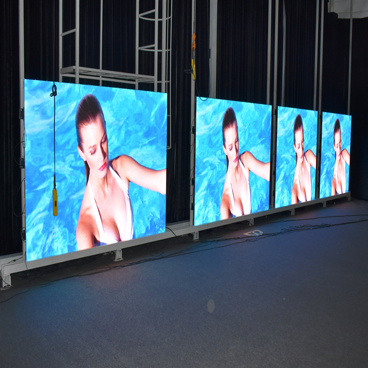 P1.875 P1.904 P2.5 Indoor Rental LED Video Display Screen / HD LED Display Full Sexy Movies Video
