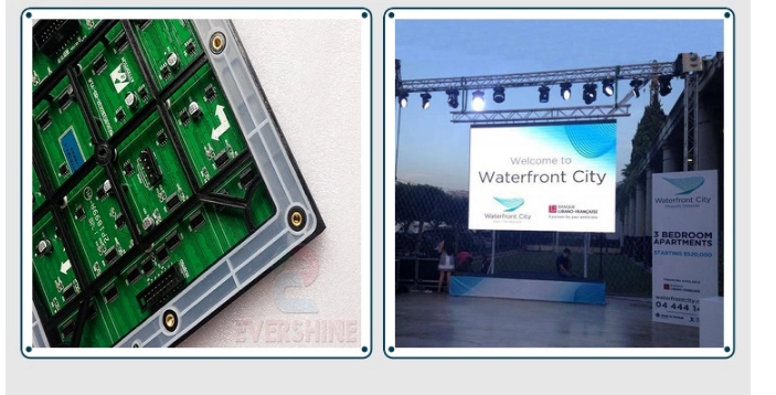 China video outdoor led display panel P6 For Street Advertising