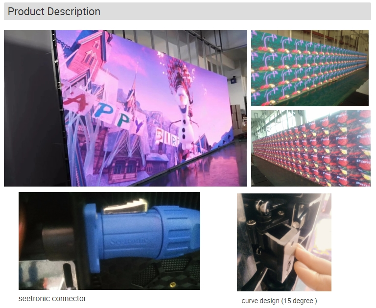 videowall china led p3.91 chinese videos hd full color led display